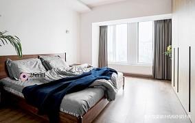 自然混搭风卧室实景图片三居潮流混搭家装装修案例效果图