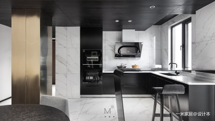 130㎡现代简约厨房设计