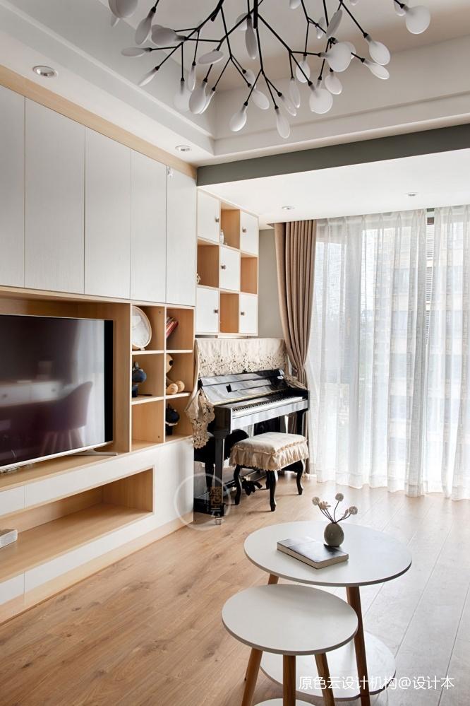 北欧混搭风电视柜设计客厅潮流混搭客厅设计图片赏析