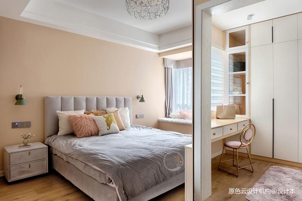 北欧混搭风主卧室设计图卧室潮流混搭卧室设计图片赏析