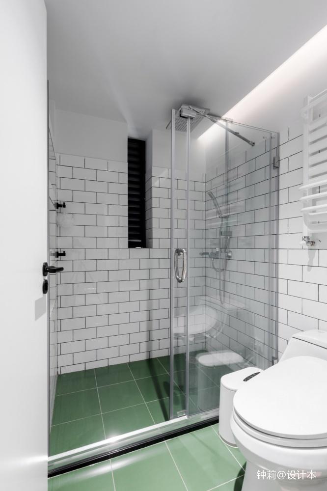 Donuts北欧风卫浴设计图卫生间马桶北欧极简卫生间设计图片赏析