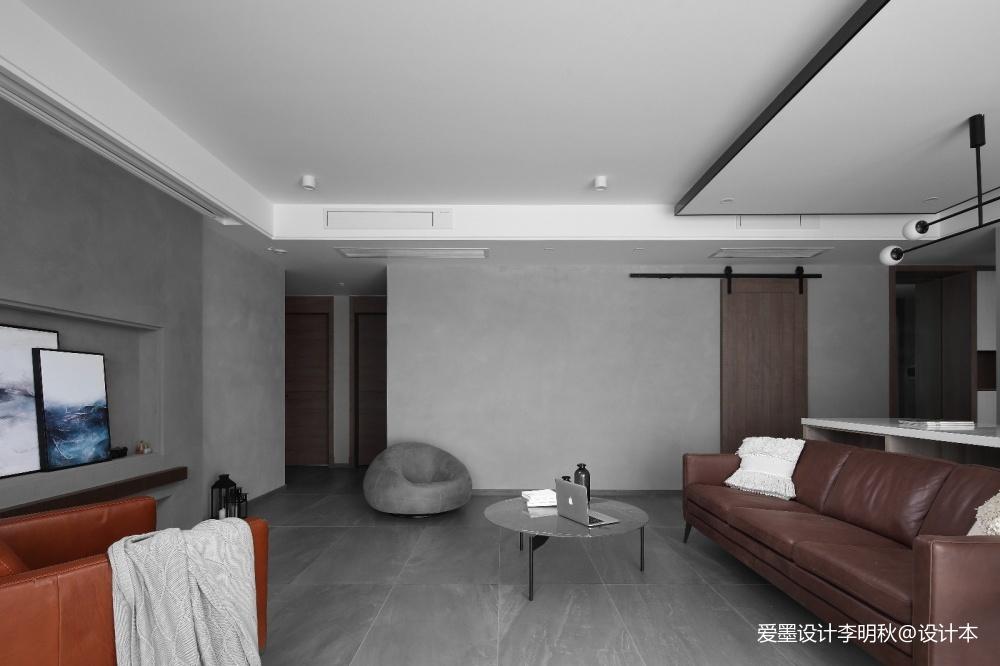 简单现代风客厅茶几图片客厅现代简约客厅设计图片赏析