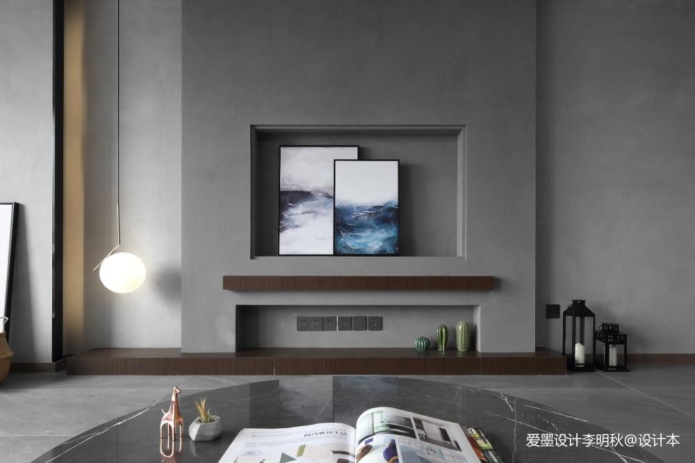 简单现代风客厅吊灯图片客厅现代简约客厅设计图片赏析