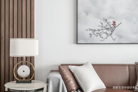 朝露·晞_3608302三居中式现代家装装修案例效果图