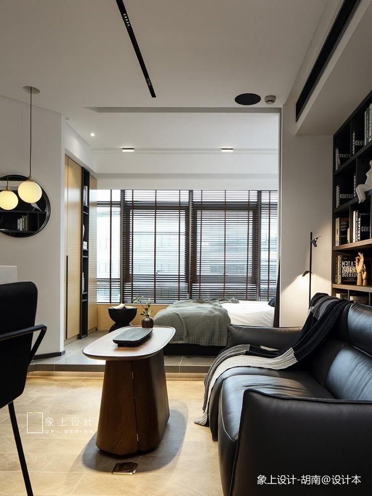 浅色系简约风客厅茶几图片客厅现代简约客厅设计图片赏析