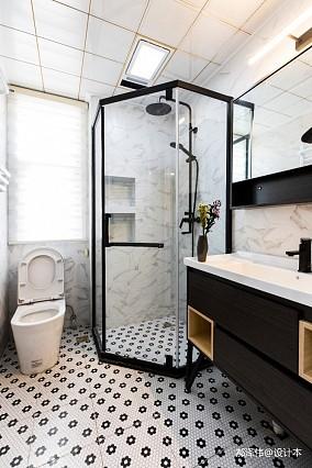 北欧风三居卫浴设计实景图片