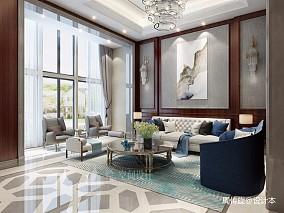 中式风格别墅设计_3611729