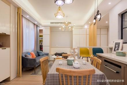 这个温馨的[家]竟是这样打造的_3612849二居现代简约家装装修案例效果图