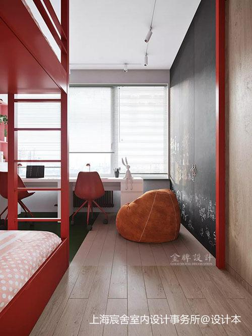 缤纷多彩的创意设计之家卧室现代简约卧室设计图片赏析