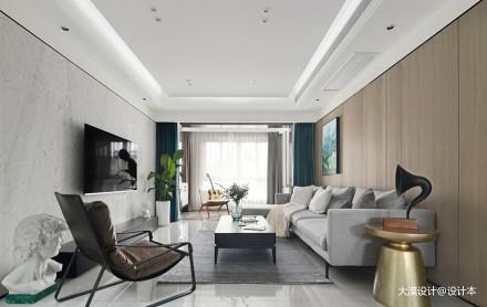 大漠设计—新作实景|《家的模样》_3613909复式现代简约家装装修案例效果图