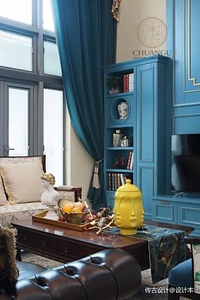 自由随性的美式家,让你体验真正的COZY三居美式经典家装装修案例效果图