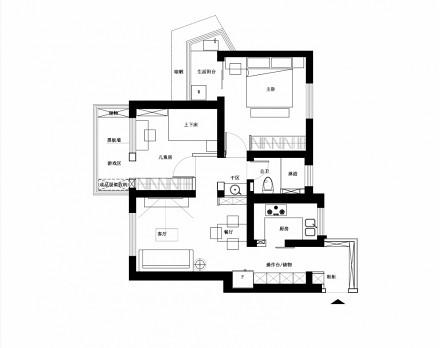 老房墙体灵活改造:从局促狭窄到三口宜居_3651288