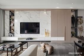 「艺术感+强收纳」安住灵魂,放下身体的家客厅现代简约设计图片赏析