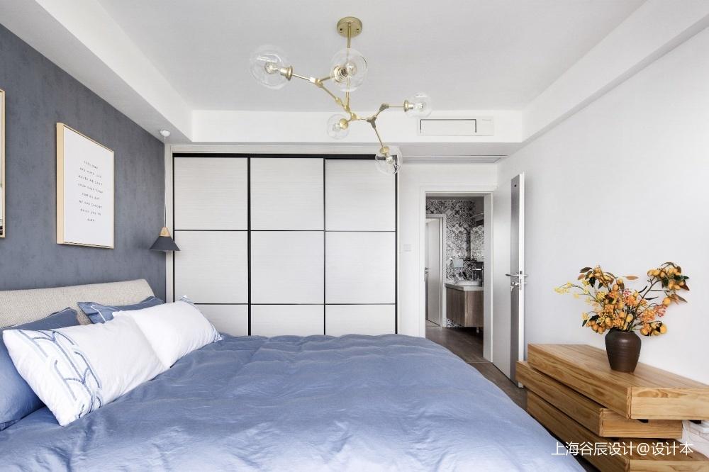 游走于灰色调卧室现代简约卧室设计图片赏析
