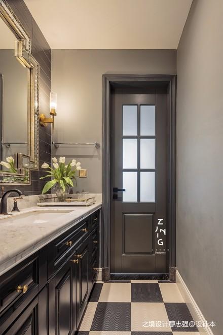 这种深颜色的房子,为什么总是别人家的?卫生间