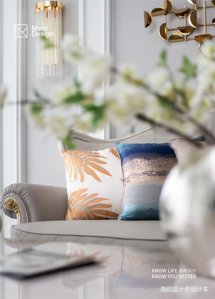 优雅欧式带你探秘融化在奶油里的甜蜜生活客厅欧式豪华客厅设计图片赏析