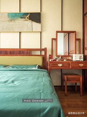 【HaoDesign】茶,香叶,嫩芽卧室2图中式现代设计图片赏析