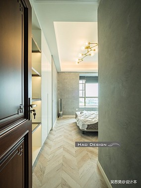 【HaoDesign】茶,香叶,嫩芽卧室1图中式现代设计图片赏析