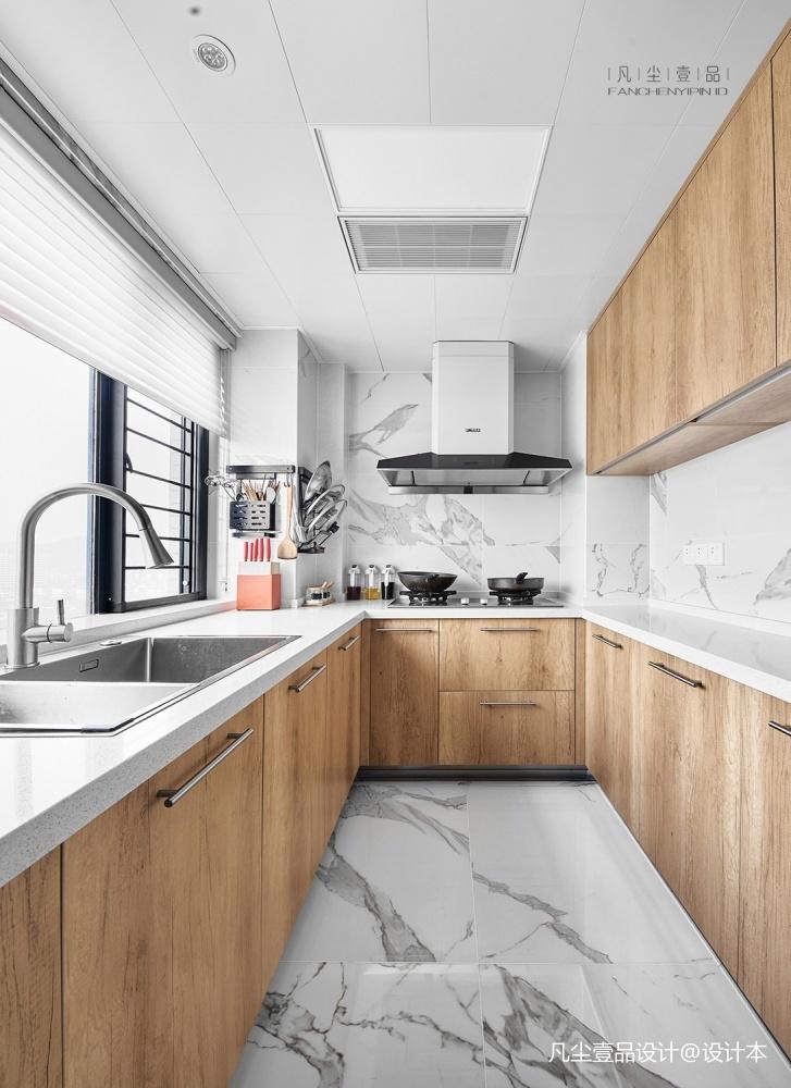 新中式燕东园餐厅中式现代厨房设计图片赏析