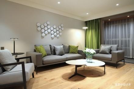 简·色_3679901121-150m²三居现代简约家装装修案例效果图