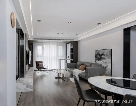 孚禾共态空间建筑设计 贯生_3682912三居现代简约家装装修案例效果图