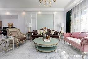 法泰案例|简欧风,一家四口的温情居所四居及以上欧式豪华家装装修案例效果图