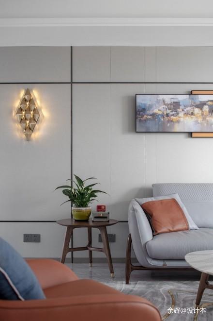 余辉设计---《橙色时光,现代轻奢公寓》_3706772