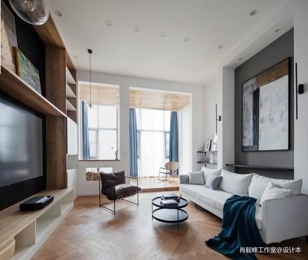 怎么让家更有高级感?_3710988别墅豪宅北欧极简家装装修案例效果图