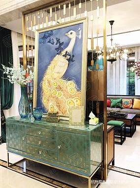 融创氿园新中式风格别墅装修中式现代设计图片赏析
