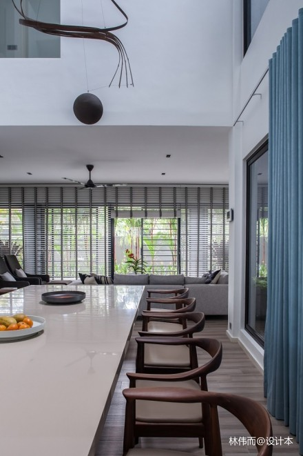 3x3 House_3718074别墅豪宅现代简约家装装修案例效果图