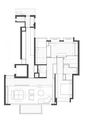畢架山一號别墅豪宅现代简约家装装修案例效果图