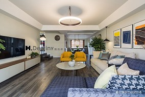 现代时尚舒适家客厅现代简约设计图片赏析