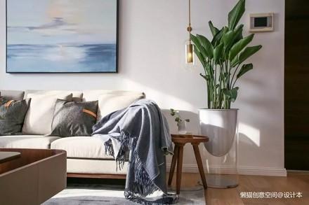 左手茶右手酒深圳工作20年在苏州找到归属_3726000复式现代简约家装装修案例效果图