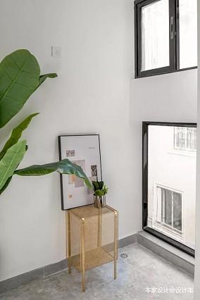 60㎡旧房改造,瞬间提高空间利用率阳台现代简约设计图片赏析