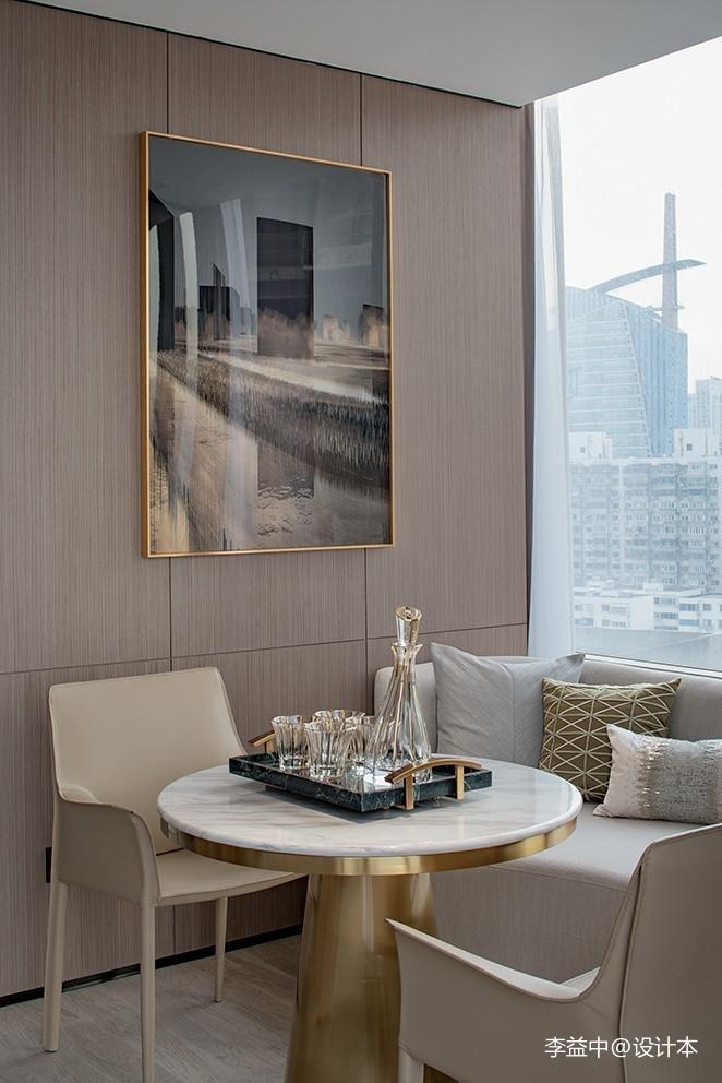 不落俗套的单身公寓设计李益中空间设计厨房现代简约餐厅设计图片赏析