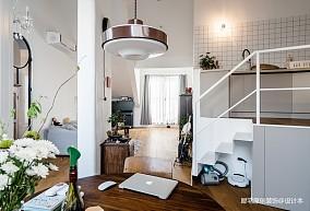 """顶楼不规则""""烂户型"""",改造后房价翻倍二居北欧极简家装装修案例效果图"""