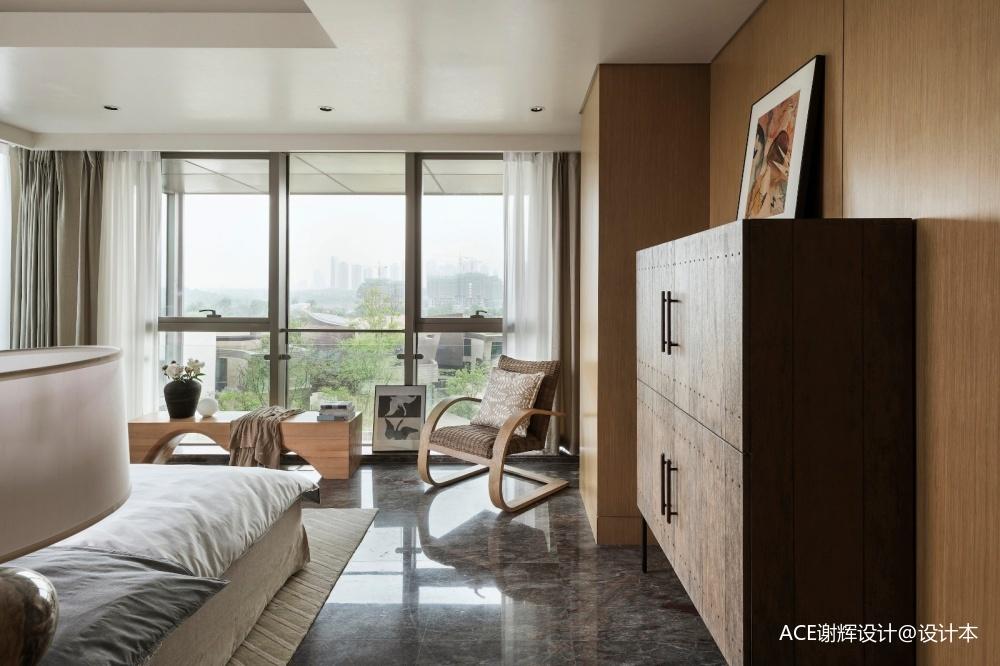 【ACE·新作】时光缱绻一隅宁安卧室沙发现代简约卧室设计图片赏析