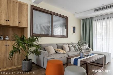 喜屋设计 夏有乔木_3744379三居日式家装装修案例效果图