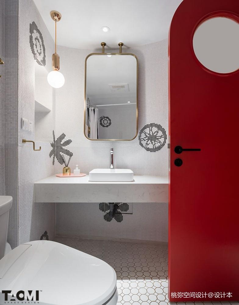 【桃弥设计】【联发九都国际】卫生间洗漱台其他卫生间设计图片赏析