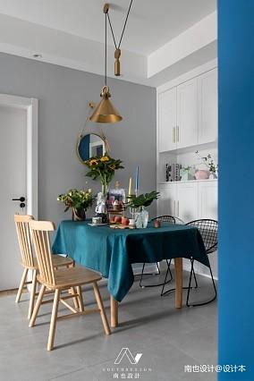 《同桌的你》用梵高的配色给全屋西晒降温厨房设计图片赏析