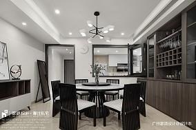 苏所·致渺三居中式现代家装装修案例效果图