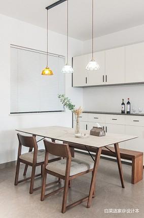 92平15万搞定气质出众温暖新家厨房北欧极简设计图片赏析