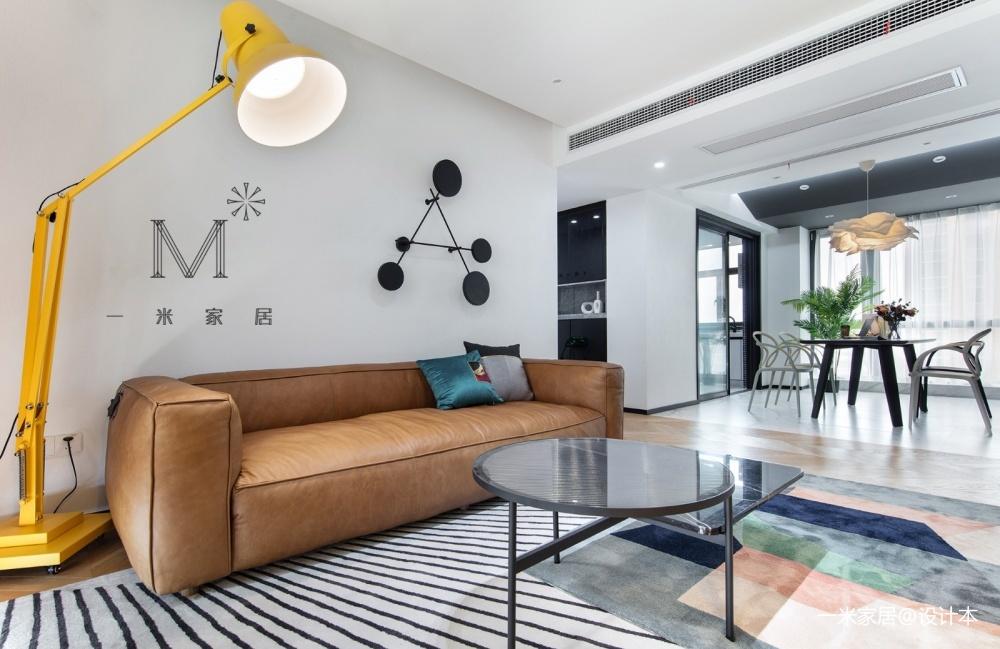 """一间有质感的单身公寓助你""""早日成家""""客厅现代简约客厅设计图片赏析"""