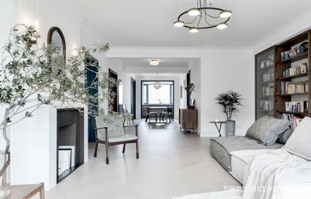 家具组合打造会变形的客厅也装下了明月清风_3783747三居北欧极简家装装修案例效果图