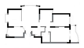 第二步:请为图片添加描述三居日式家装装修案例效果图