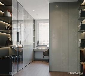 复式楼现代极简风格设计_3796972