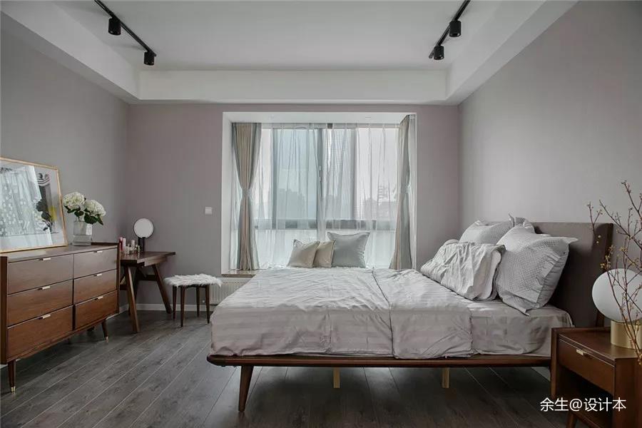 灰褐系北欧风造就静止的温情时光卧室其他卧室设计图片赏析