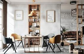 北欧餐厅设计方案分享素材_3835308