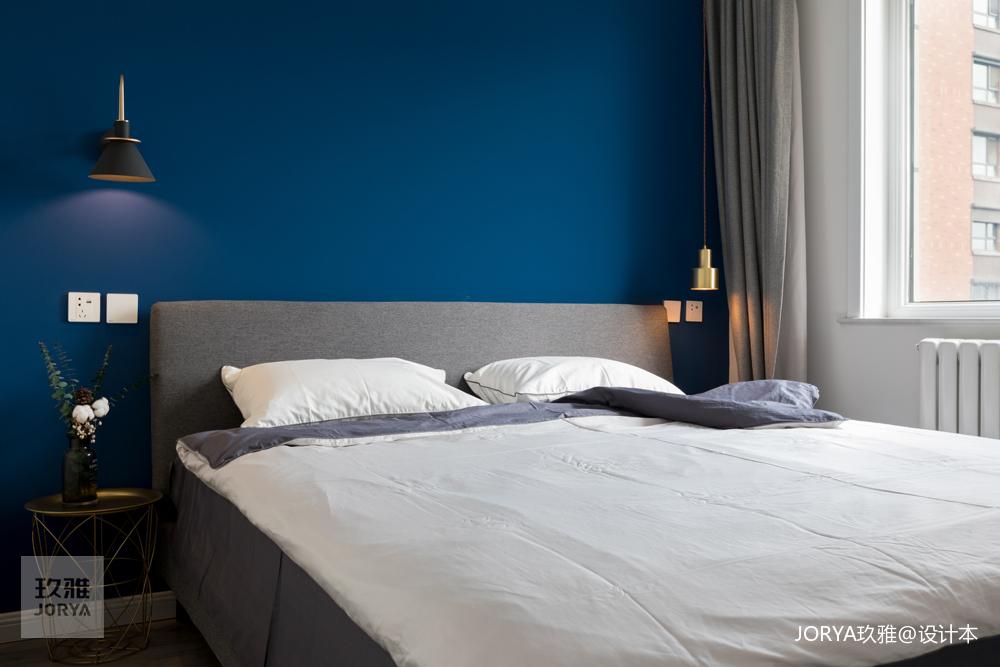餐厅旋转吧台让温馨翻倍!卧室北欧极简卧室设计图片赏析