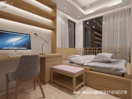89m²小户型打造3室一厅北欧简约设计_3853543